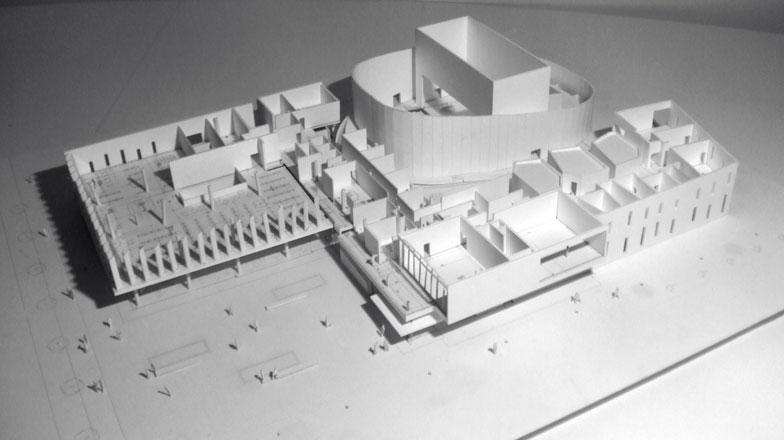 centre culturel de villepinte projet jacques ripault architecture atelier d 39 architecture. Black Bedroom Furniture Sets. Home Design Ideas